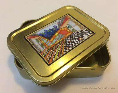 2oz Tobacco Tin by Michael Carlton-