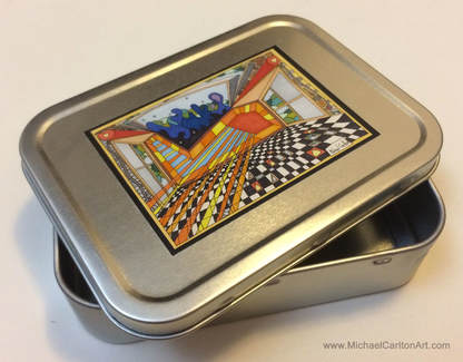 2oz Tobacco Tin by Michael Carlton -