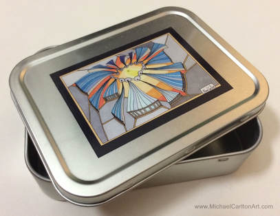 2oz Tobacco Tin -